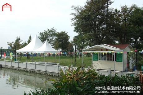 铝合金尖顶篷房