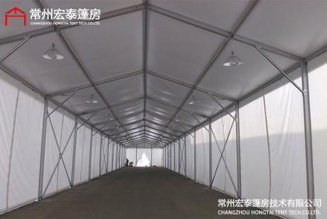 仓储篷房搭建